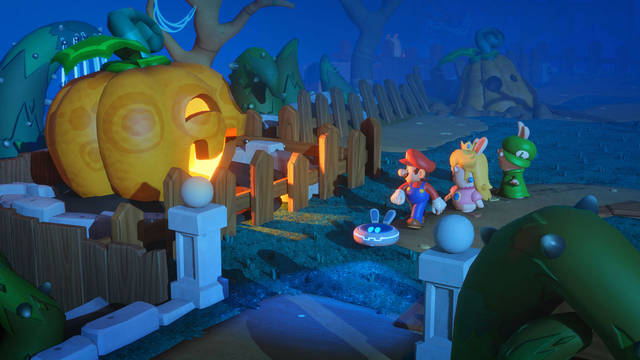 Mario + Rabbids Kingdom Battle disponibile oggi