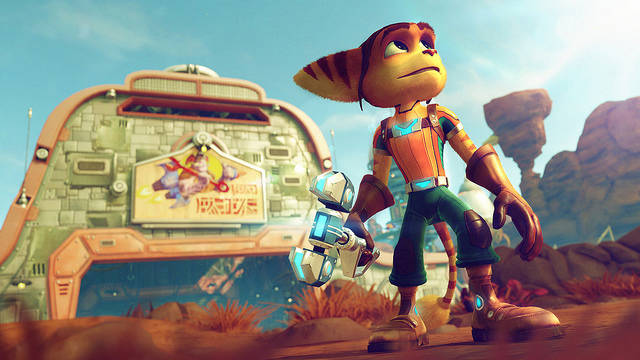 Ratchet e Clank - Anteprima PS4