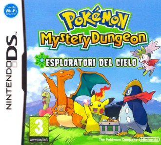 Pokemon Mystery Dungeon: Esploratori del Cielo: Codici Cheats Action Replay