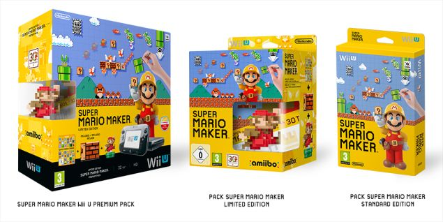 Super Mario Maker: annunciati diversi bundle