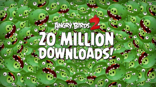 Angry Birds 2: venti milioni di download in una settimana