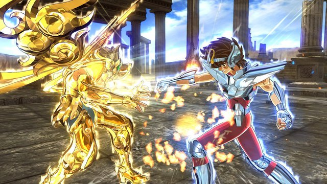 Saint Seiya: Soldiers' Soul è ora disponibile