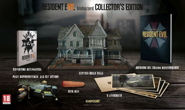 Zona Limitata - Resident Evil 7: Collector's Edition