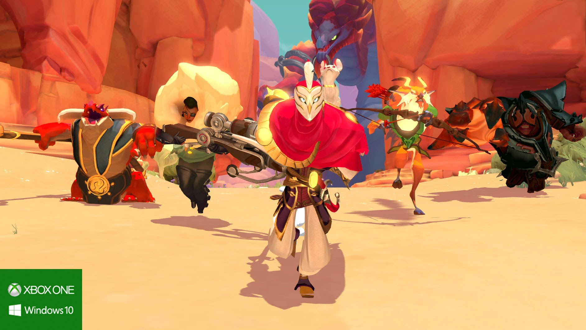 Gigantic: L'open beta partirà presto
