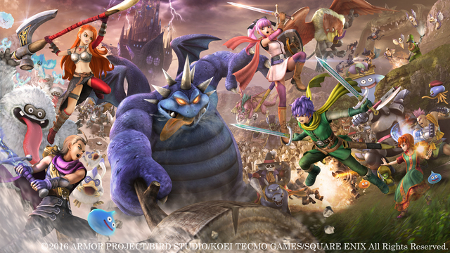 Dragon Quest Heroes II: niente versione PlayStation Vita in occidente