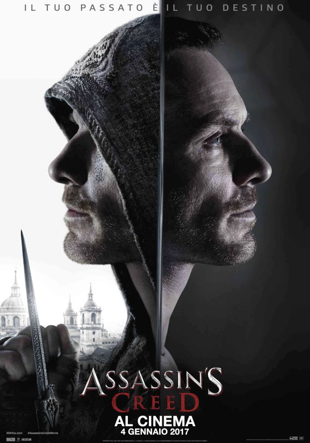 Assassin's Creed: il film, gli spot in italiano