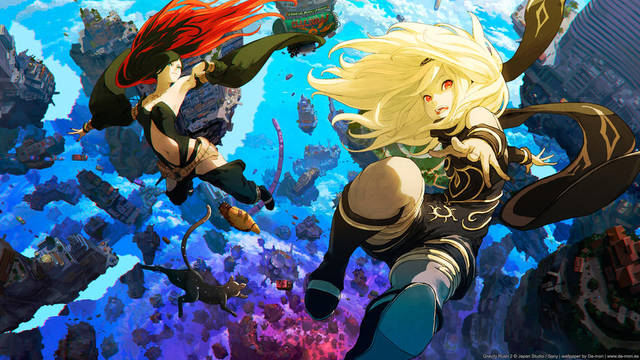 Gravity Rush 2 disponibile da oggi su PS4