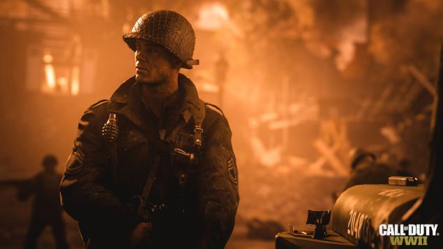 Call of Duty: World War 2, le prime immagini ufficiali