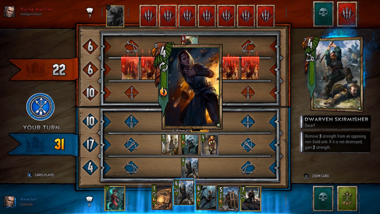 gwent-the-witcher-card-game-cacciatore