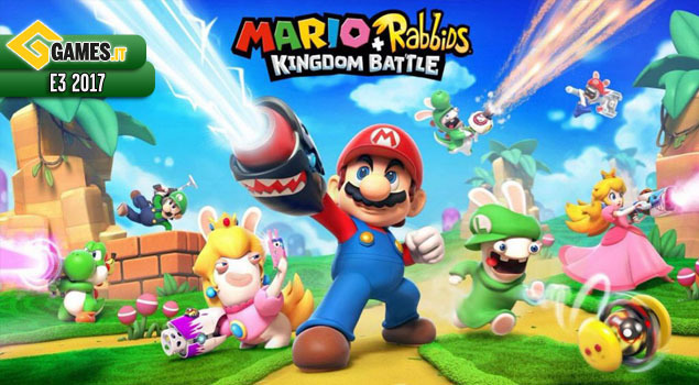 Mario + Rabbids Kingdom Battle | Annuncio e Data | Ubisoft | E3 2017