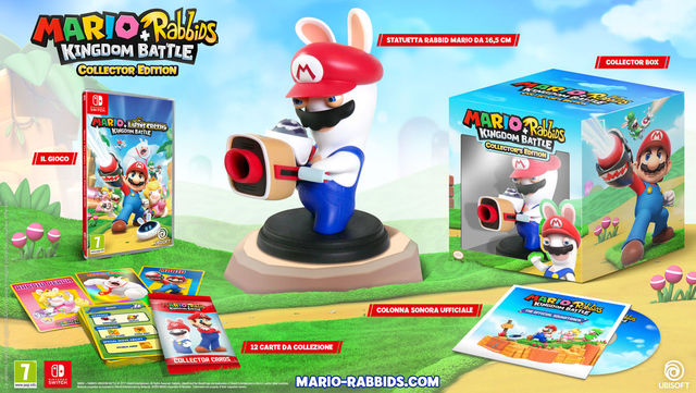 Mario + Rabbids Kingdom Battle: svelata la Collector's Edition