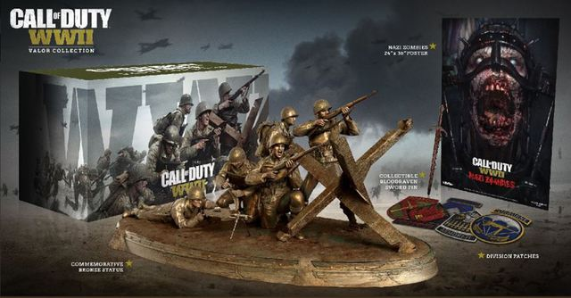 Call of Duty: WW2 - annunciata la Valor Collection