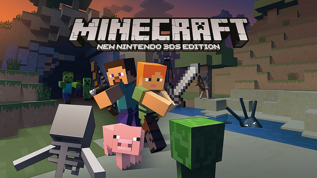 Minecraft: annunciata la New Nintendo 3DS Edition