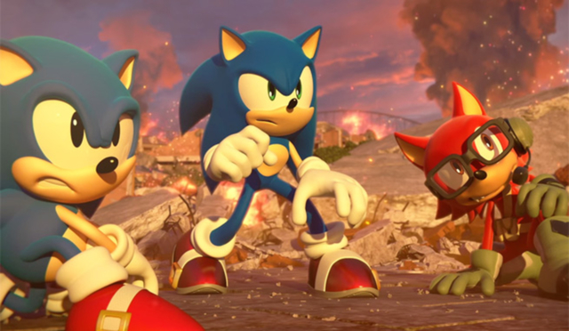 Sonic Forces: ecco lo storico stage 'Chemical Plant'