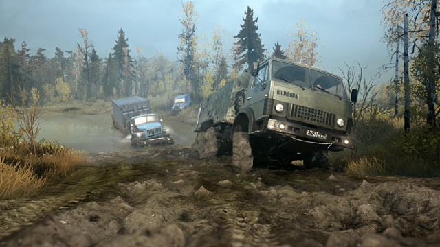 Spintires: MudRunner si mostra in un nuovo gameplay
