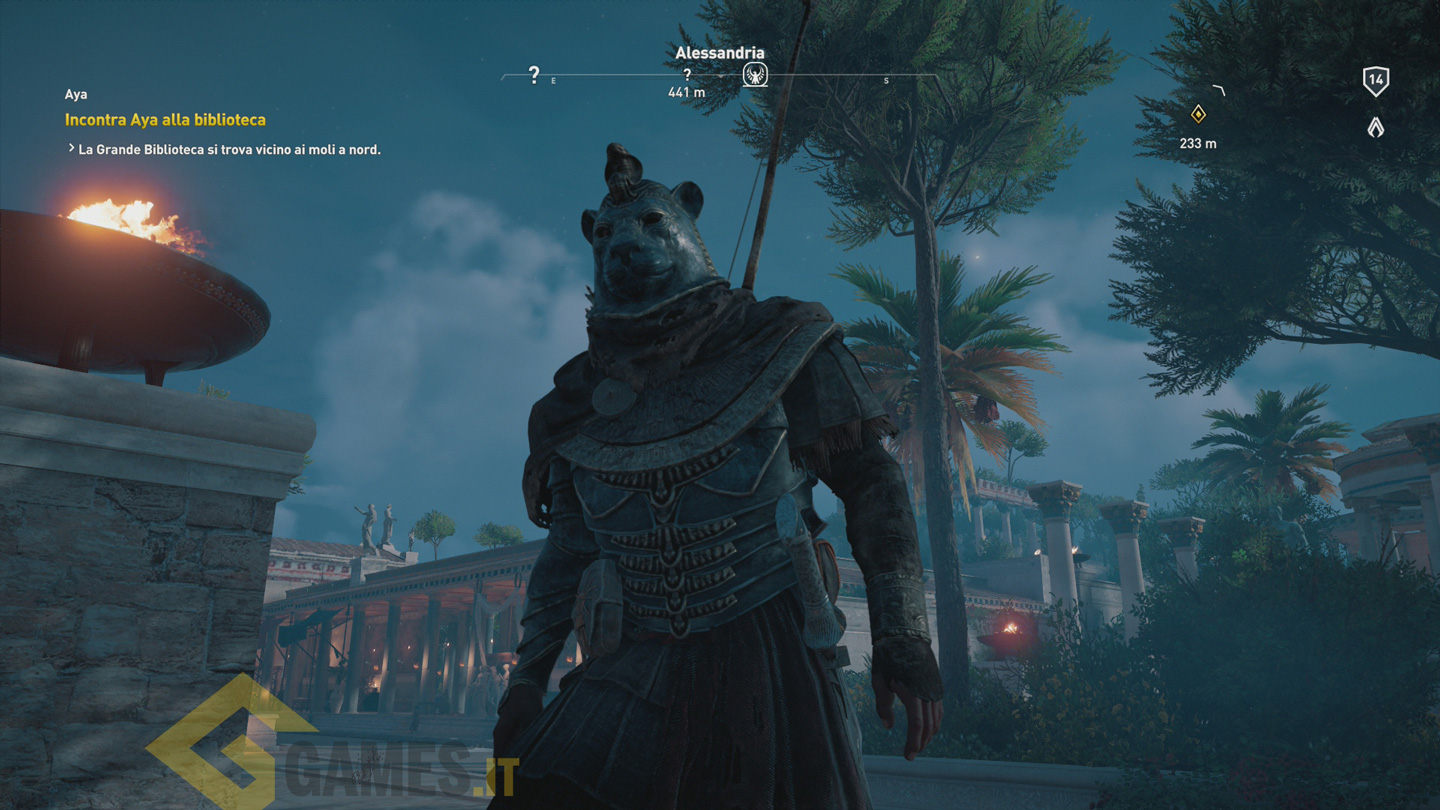 Assassin's Creed Origins - Sbloccare il costume di Sekhmet