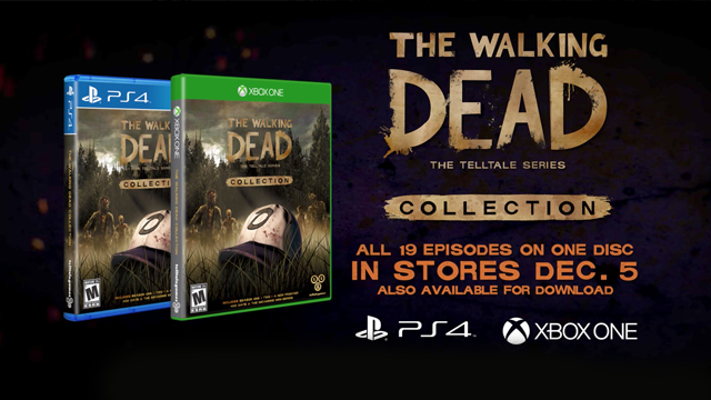 the walking dead the telltale series collection. Black Bedroom Furniture Sets. Home Design Ideas