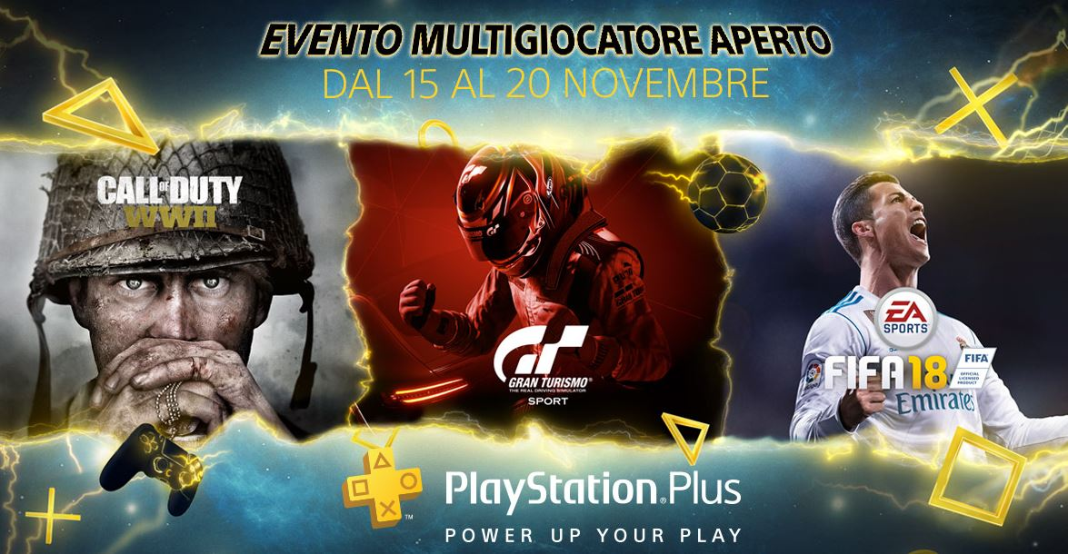 Playstation 4: Multiplayer gratis senza Plus dal 15 al 20 novembre