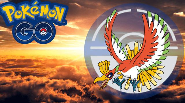 Pokémon GO: disponibile il Pokémon Ho-Oh