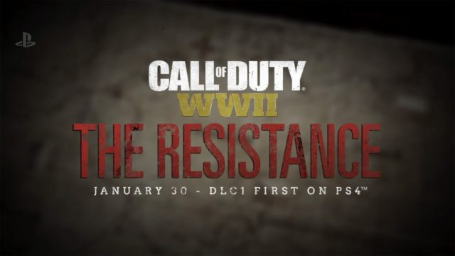 Call of Duty: WW2 - trailer e dettagli per il DLC 'The Resistance'