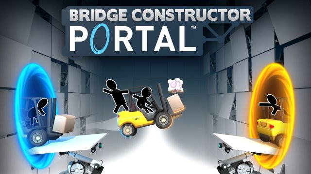 Bridge Constructor Portal è disponibile su PC e mobile