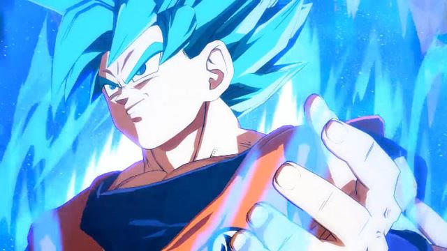 Dragon Ball FighterZ: Goku SSJ Blue scende sul campo di battaglia